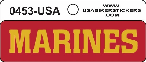MARINES HELMET STICKER